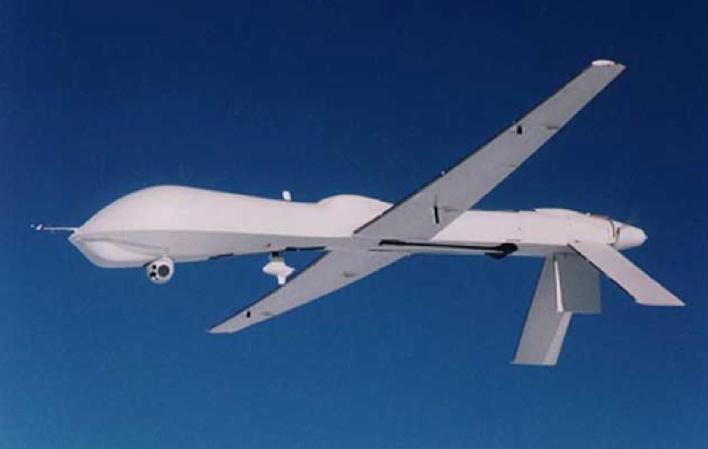 General Atomics Predator B TKS Ice Protection System UAS