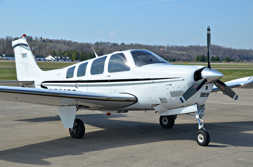 Mark Johnson - N536BB Beechcraft G36TN Bonanza 001