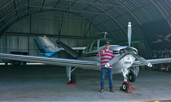 Another Line of Defence: Luc Vermeulen V35 Bonanza Testimonial